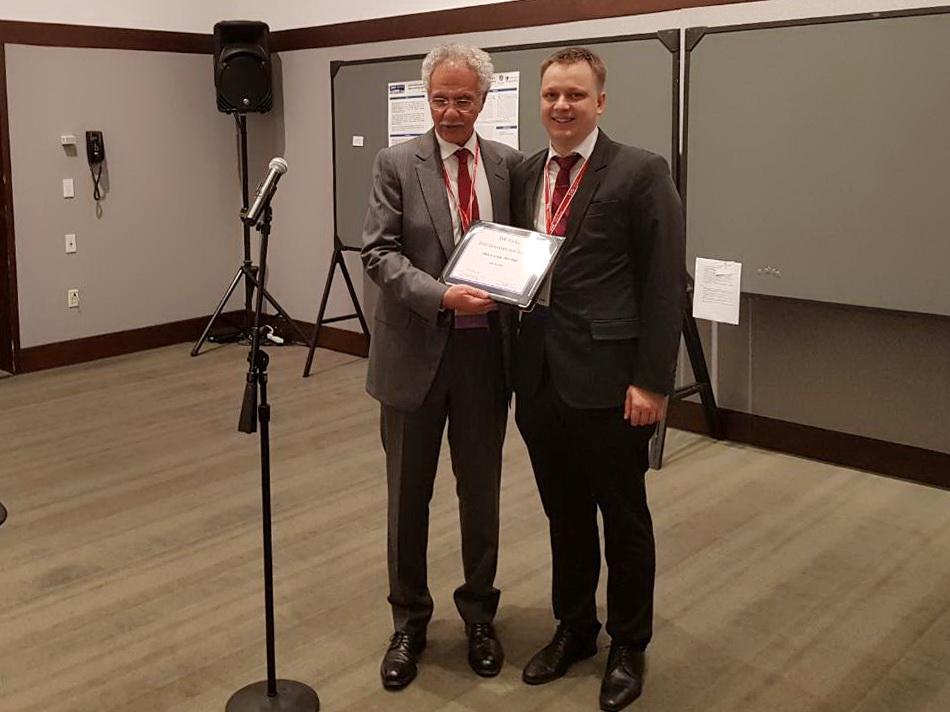 Викладач ІФНМУ став переможцем стипендійної програмиу галузі судинної хірургії